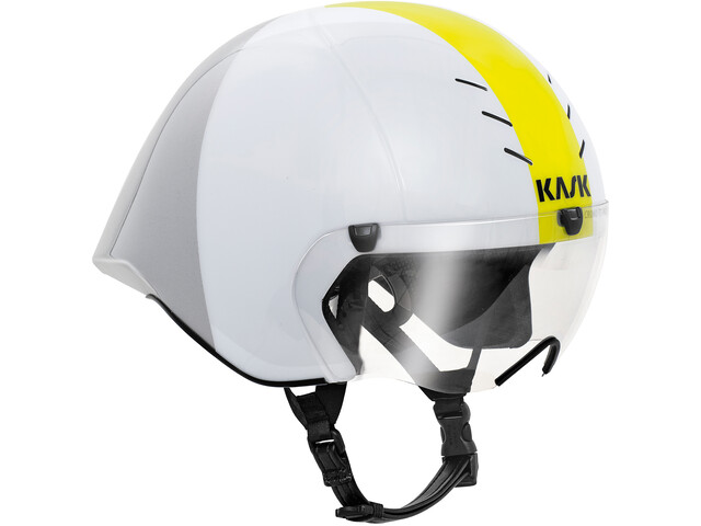 Kask Mistral Kask rowerowy, white/silver